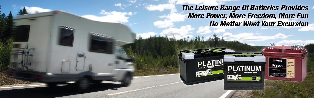 Platinum Leisure Batteries - Vented, AGM & Gel Batteries