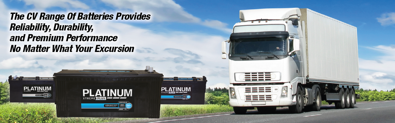 Platinum Commercial Vehicle Batteries