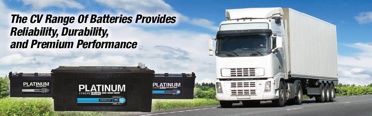 Platinum Commercial Vehicle Batteries