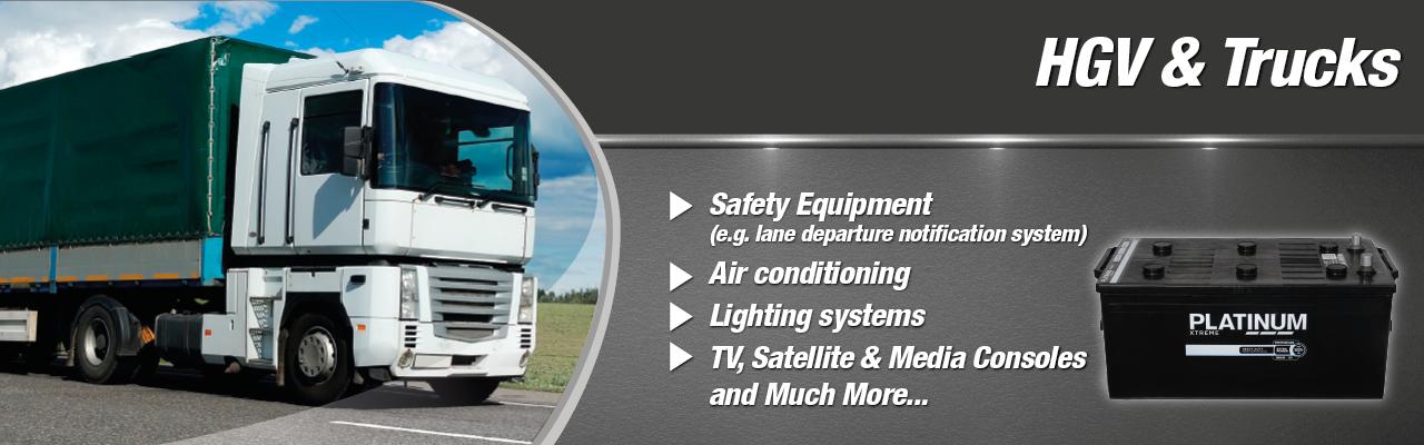 Heavy Goods Vehicles - Batteries
