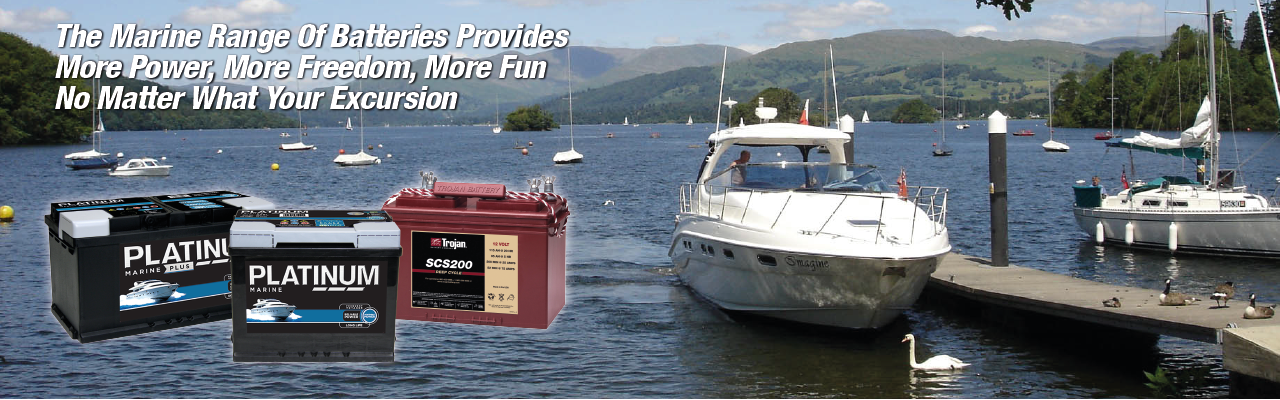 Platinum & Trojan Marine Batteries