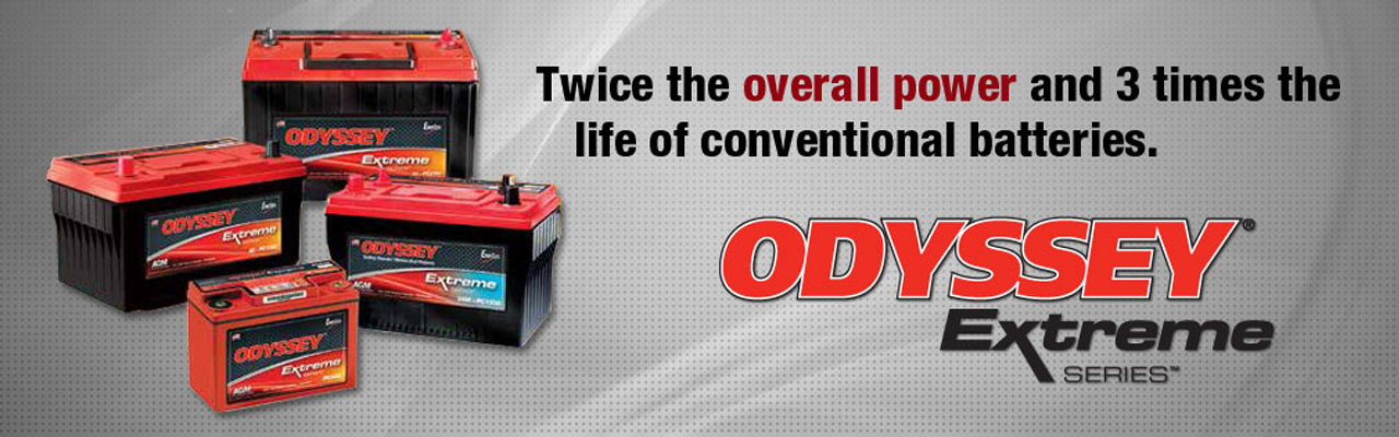 Odyssey Extreme Deep Cycle - Multi Application Batteries