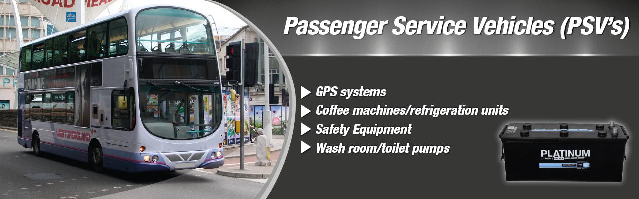 Bus, Coach & Passenger Service Vehicles