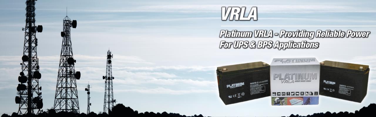 VRLA Batteries Mobility, BPS & UPS Power